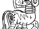 Zecora Model Coloring Page