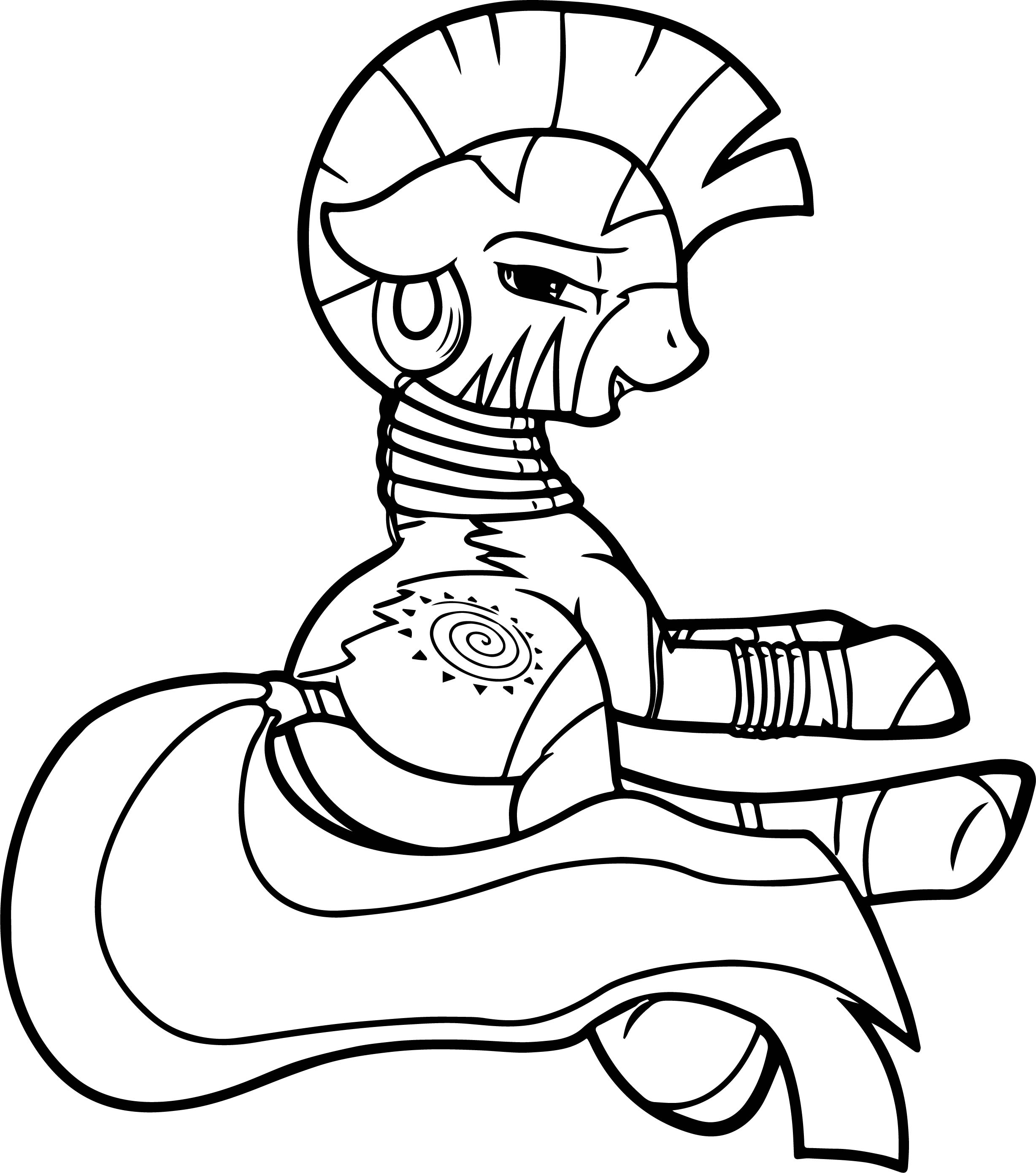 Zecora Plot Coloring Page