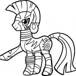 Zecora Pose Coloring Page