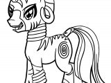 Zecora Shadow Coloring Page