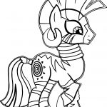 Zecora Slow Walking Coloring Page