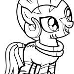 Zecora Small Cute Coloring Page