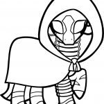 Zecora The Zebra My Little Pony Friendship Is Magic Coloring Page