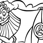 Zeus Hercules Looking Coloring Pages