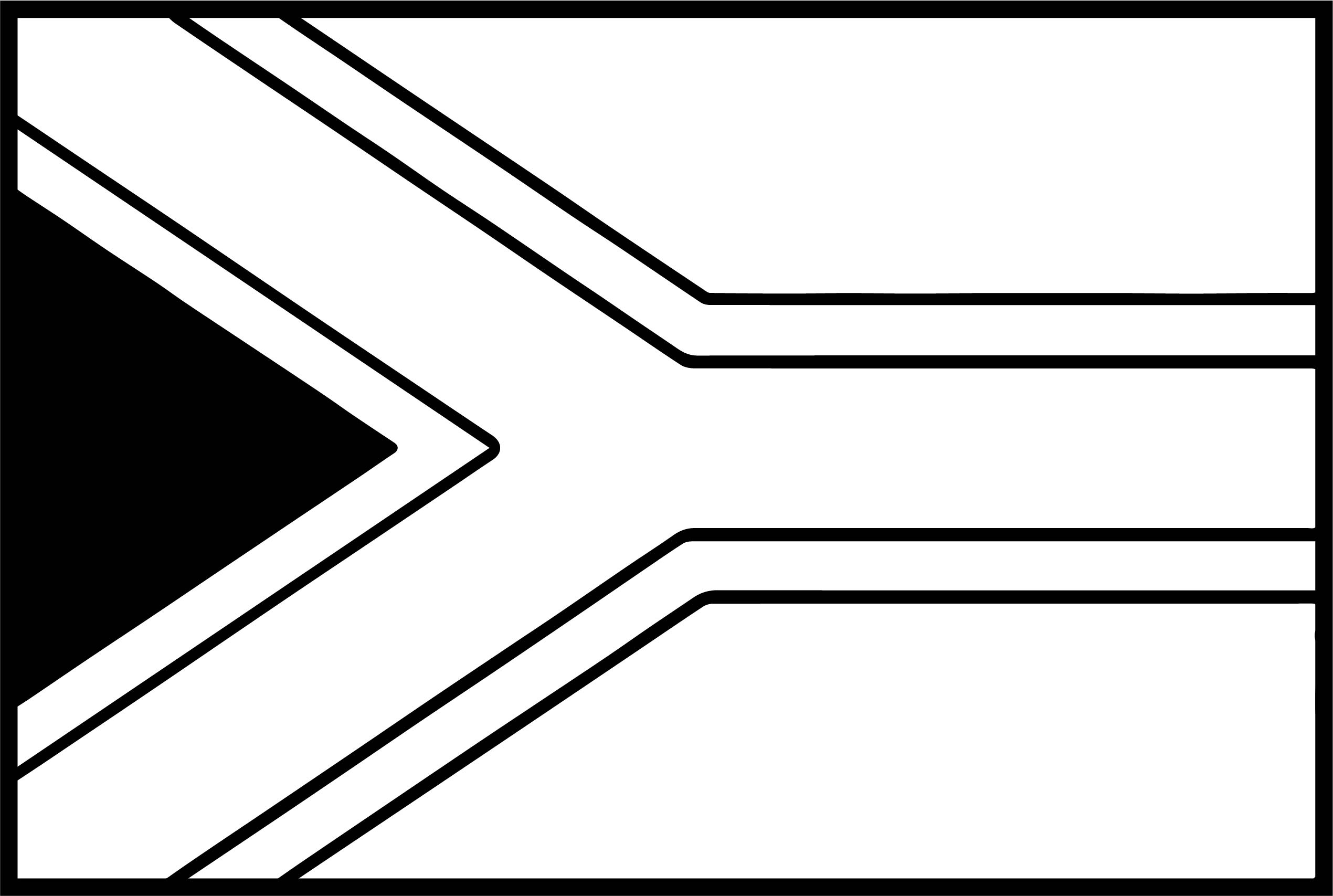 African Flag Coloring Page