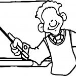 African Teacher Coloring Page
