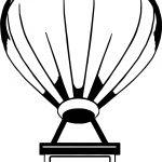 Air Balloon Box Coloring Page
