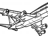 Airplane Transit Coloring Page