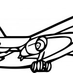 Airplane Up Coloring Page