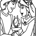 Aladdin And The King Of Thieves Crystal Coloring Pages