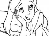 Alice In The Wonderland Boring Coloring Page