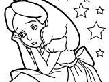Alice Scream Coloring Page