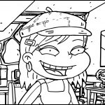 All Grown Up Angelica Cafe Coloring Page