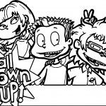 All Grown Up President Coloring Page