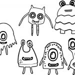 All Monster Alien Coloring Page