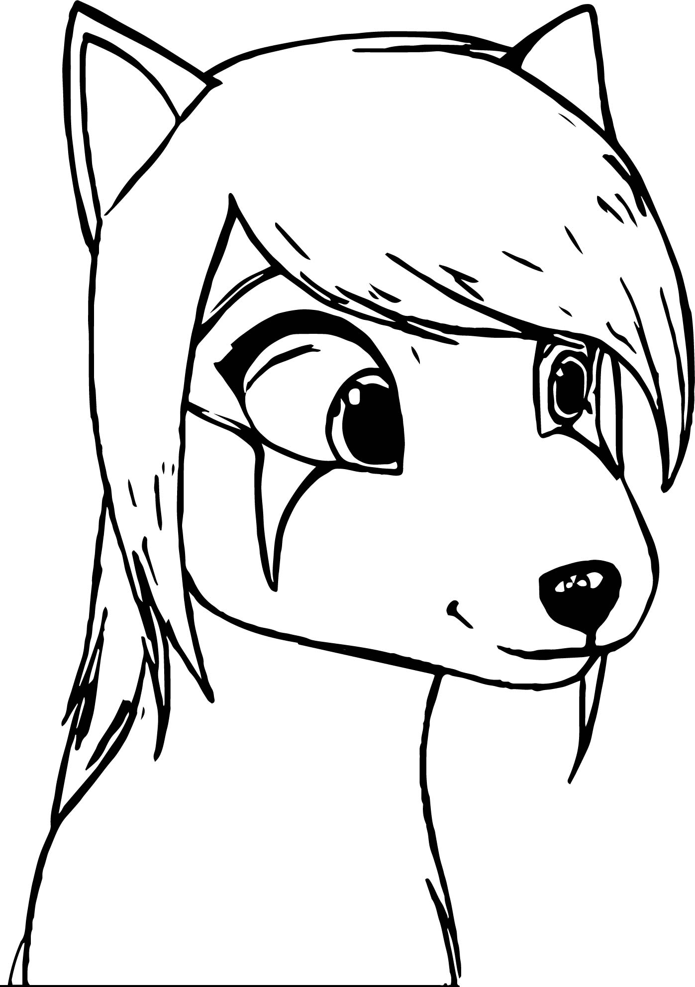Alpha And Omega Oc Ellie Coloring Page