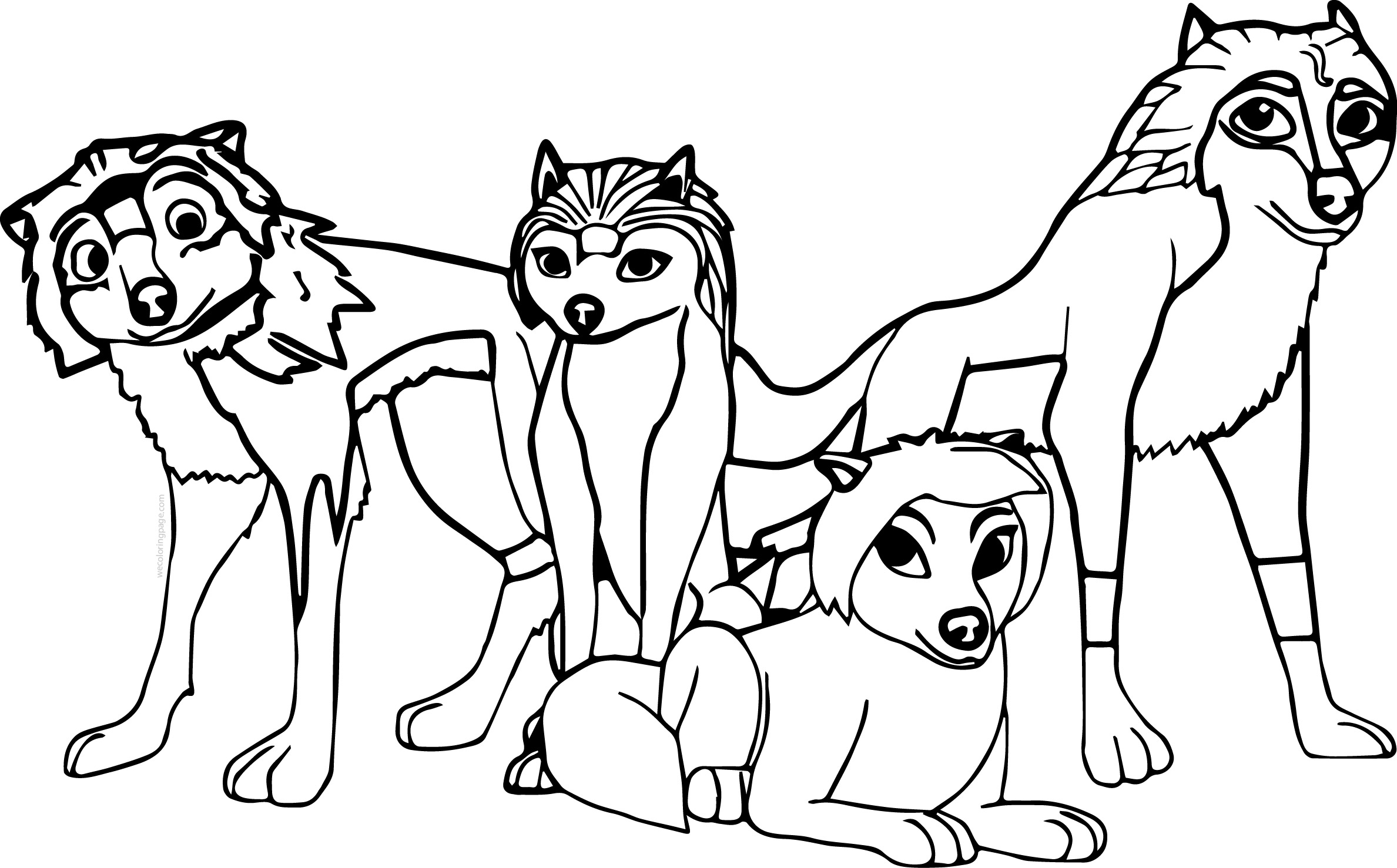 alpha and omega top 4 characters coloring page wecoloringpage