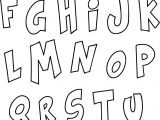 Alphabet Funny Coloring Page