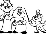 Alvin And Chipmunks Music Now Coloring Page