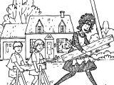 Amelia Bedelia Building Work Coloring Page