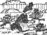 Amelia Bedelia Collage Garden Coloring Page