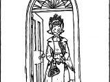 Amelia Bedelia Door Coloring Page