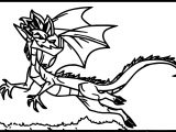 American Dragon Coloring Page