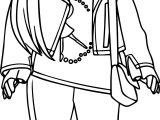 American Girl Free Doll Coloring Page