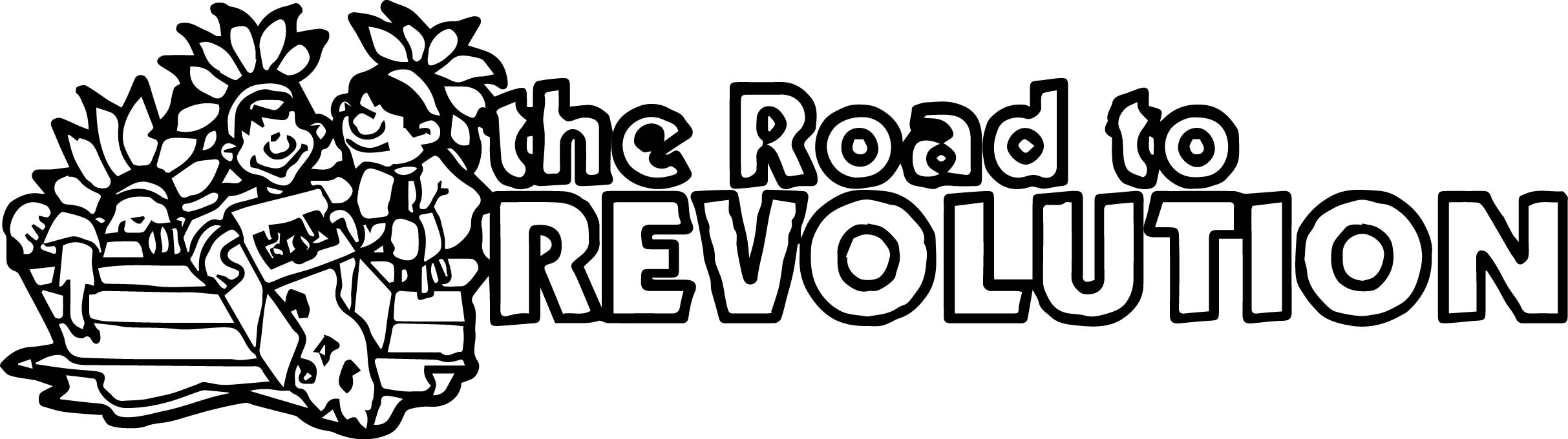 American Revolution Banner Road To Revolution Coloring Page