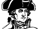 American Revolution George Washington Coloring Page