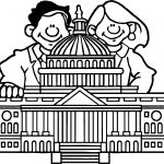 American Revolution Government Capital Coloring Page