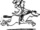 American Revolution Horse And Man Coloring Page