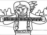 American Revolution Musical Man Coloring Page
