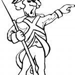 American Revolution War Coloring Page