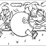 Amy Rose Fat Coloring Page