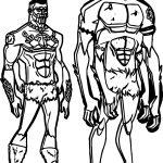 Anansi Man Coloring Page