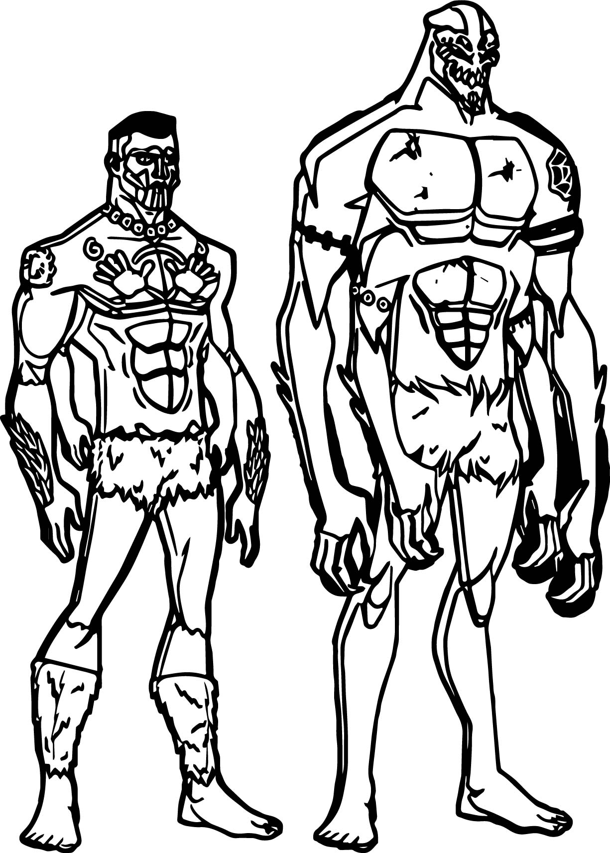 Anansi man coloring page for Anansi the spider coloring pages