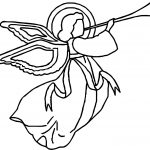 Angel Music Coloring Page