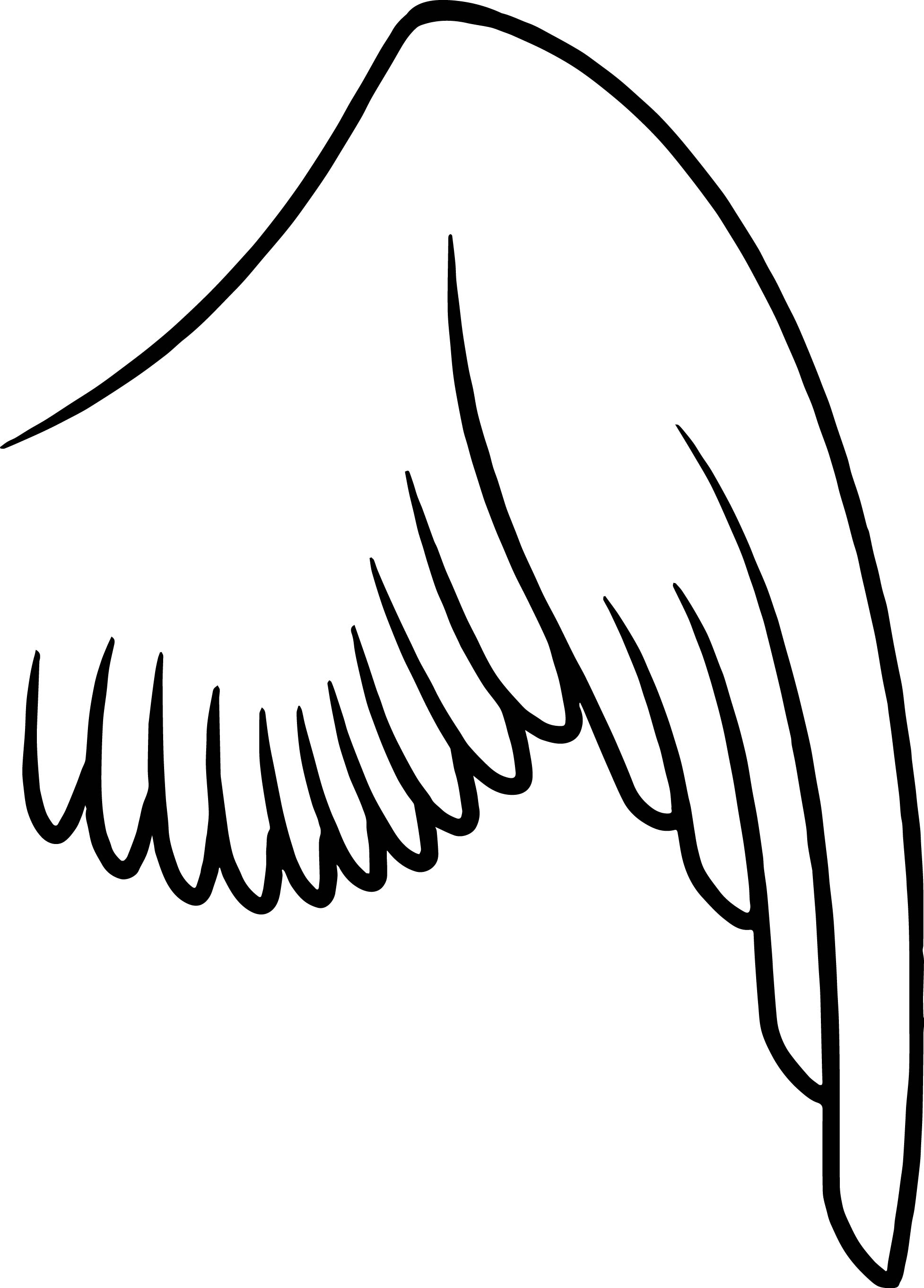 free angel wings coloring pages - photo#34