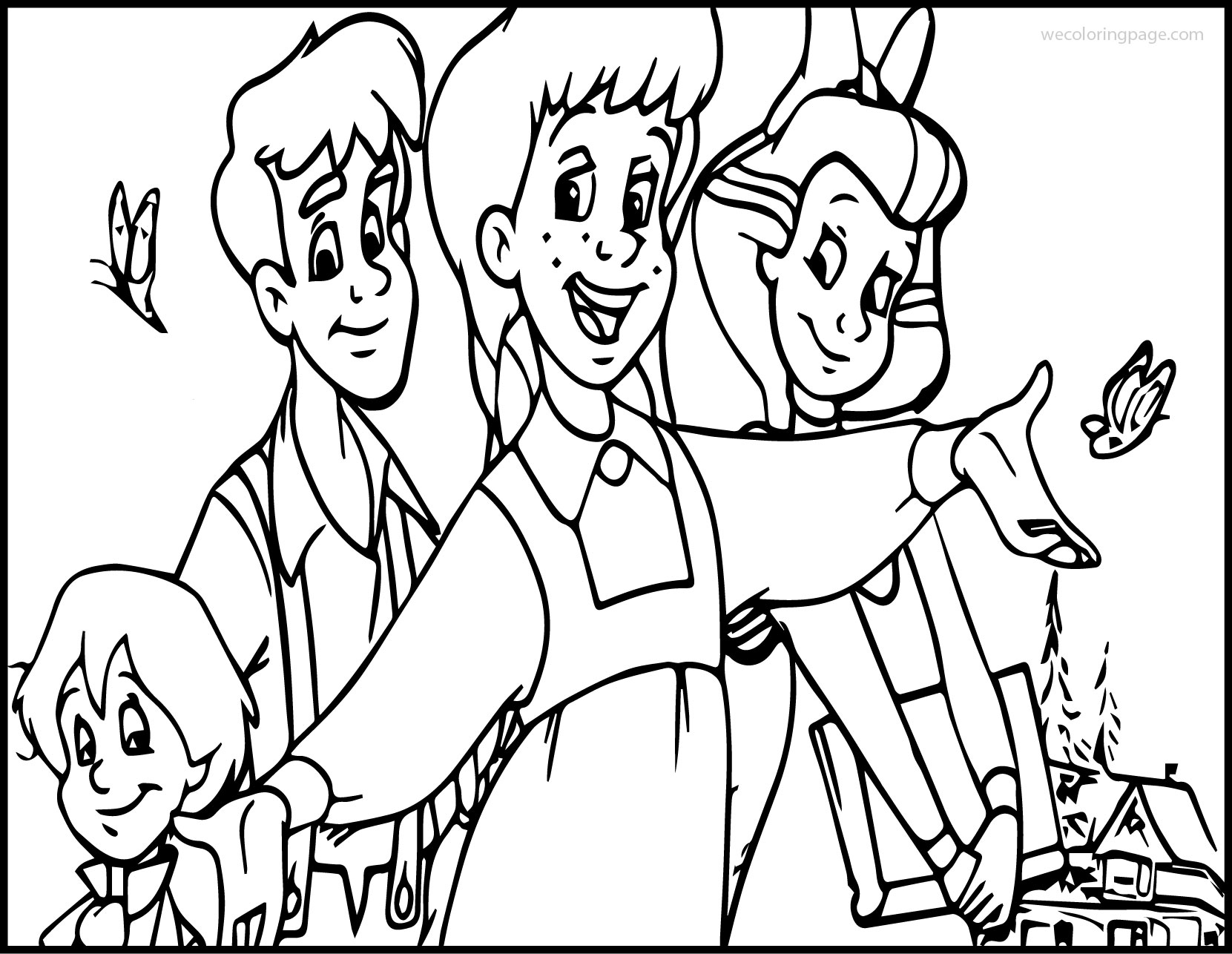 Anne Green Gables The Series Coloring Page