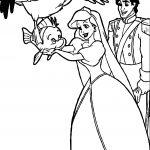 Ariel Disney Princess Coloring Page