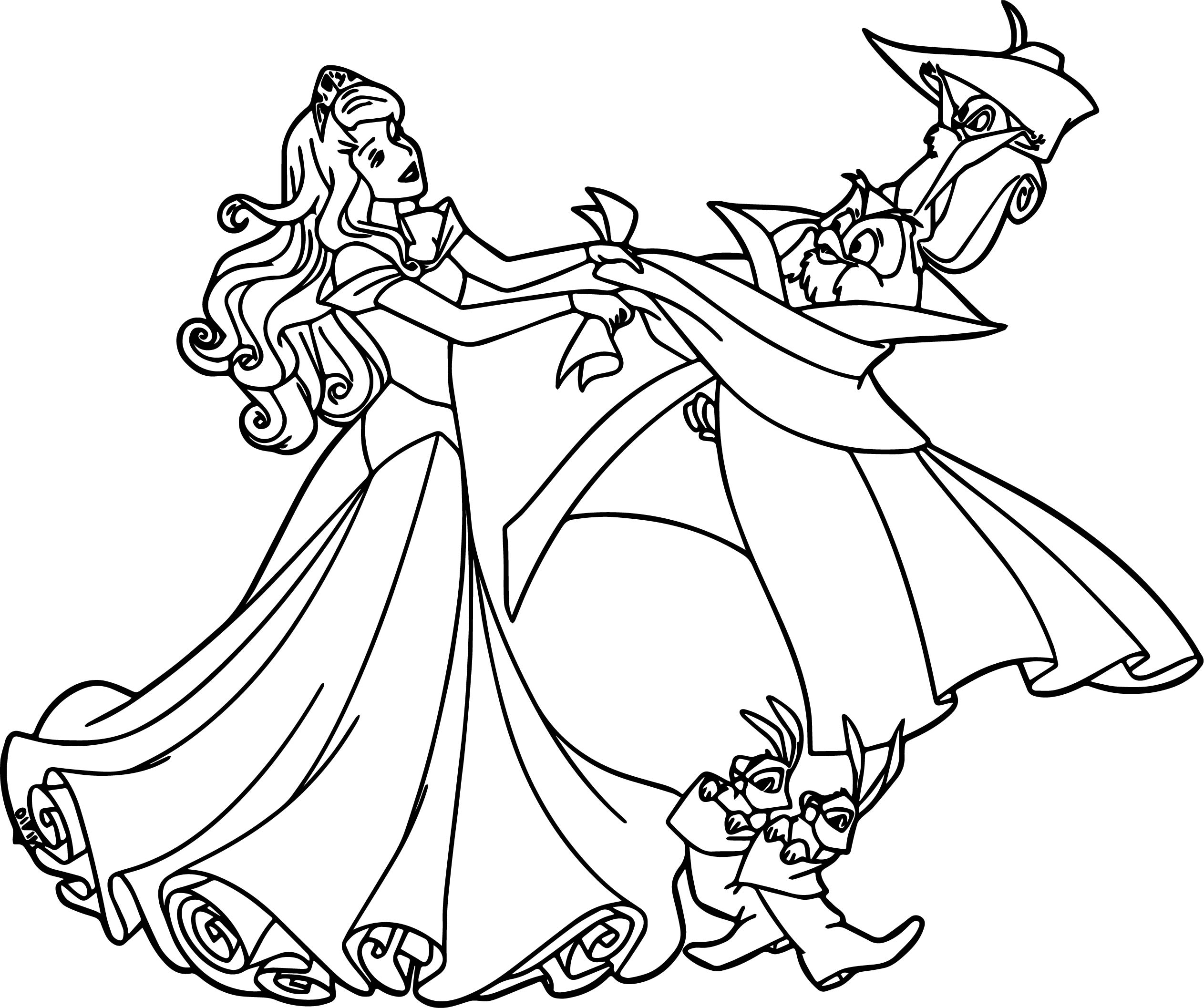 Aurora Animals Cartoonized Coloring Page