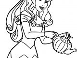 Aurora Tea Cartoon Coloring Page