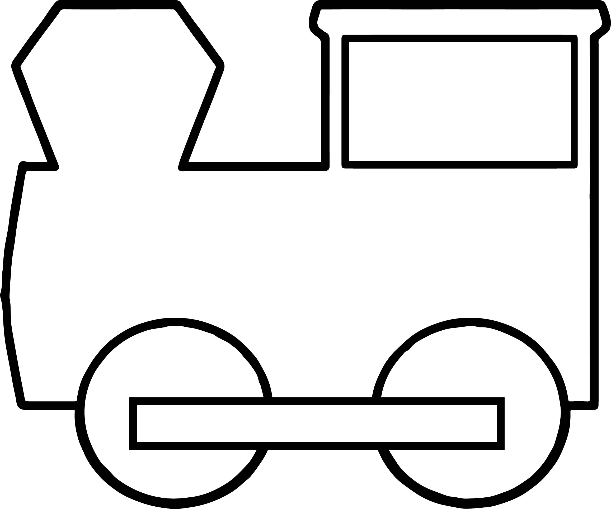 basic train coloring pages wecoloringpage