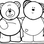 Best Bear Friends Coloring Page