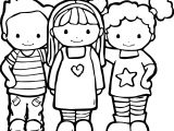 Best Friends Color Coloring Pages