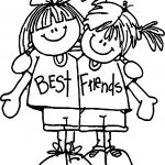 Best Friends Free Printable Coloring Page
