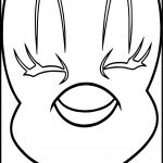 Big Face Tweety Coloring Page