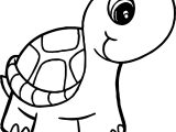 Big Head Tortoise Turtle Coloring Page