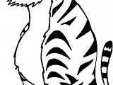 Big Tiger Coloring Page